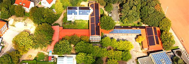 Eine von vielen Photovoltaikalage der SL Buergerenergie Gladbeck
