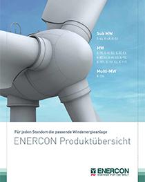 Enercon Windenergieanlagen Produktübersicht