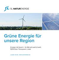 Unternehmensbroschüre der SL NaturEnergie