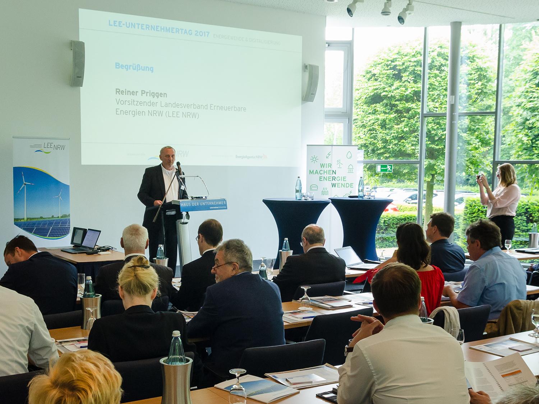 Rainer Priggen, Vorsitzender Landesverband Erneuerbare Energien NRW